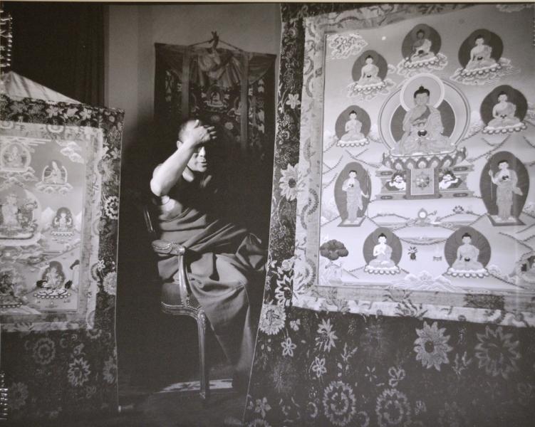 The Dalai Lama photographed by David Gamble