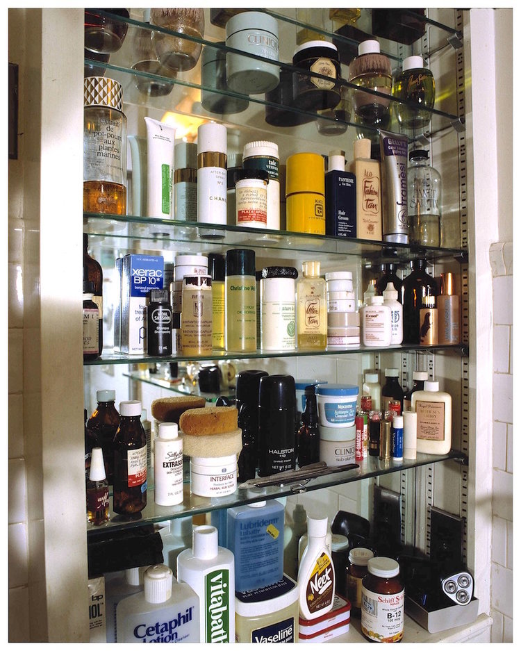 """Andy Warhol's Medicine Cabinet"" (1987) by David Gamble"