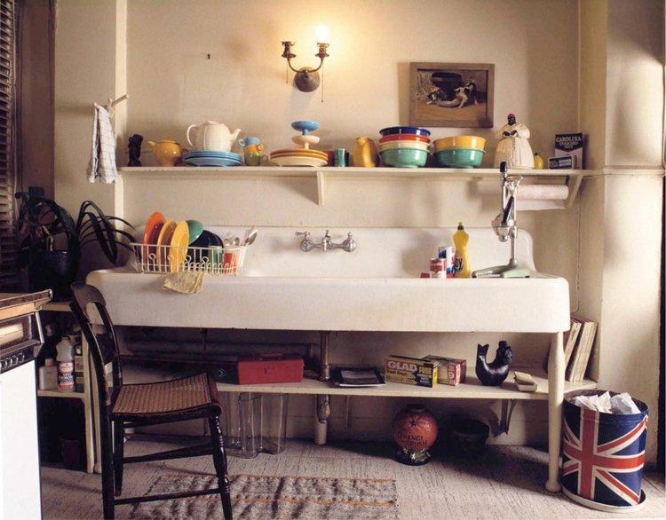 """Andy Warhol's Kitchen (1987)"" by David Gamble"