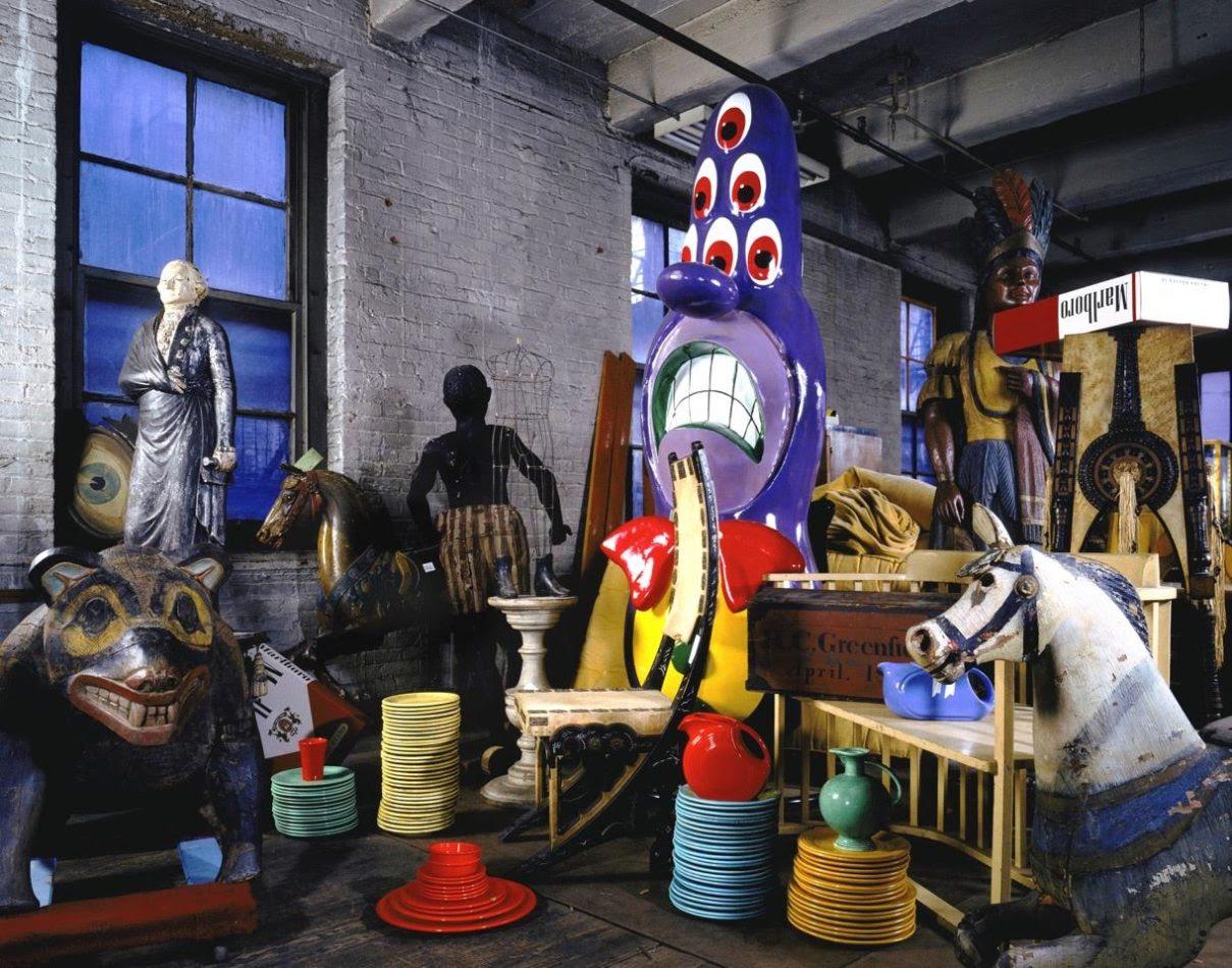 """""""Andy Warhol's Warehouse"""" (1987) by David Gamble"""