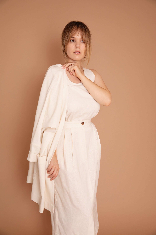Gentlewoman Skirt Raw Silk 1.jpg