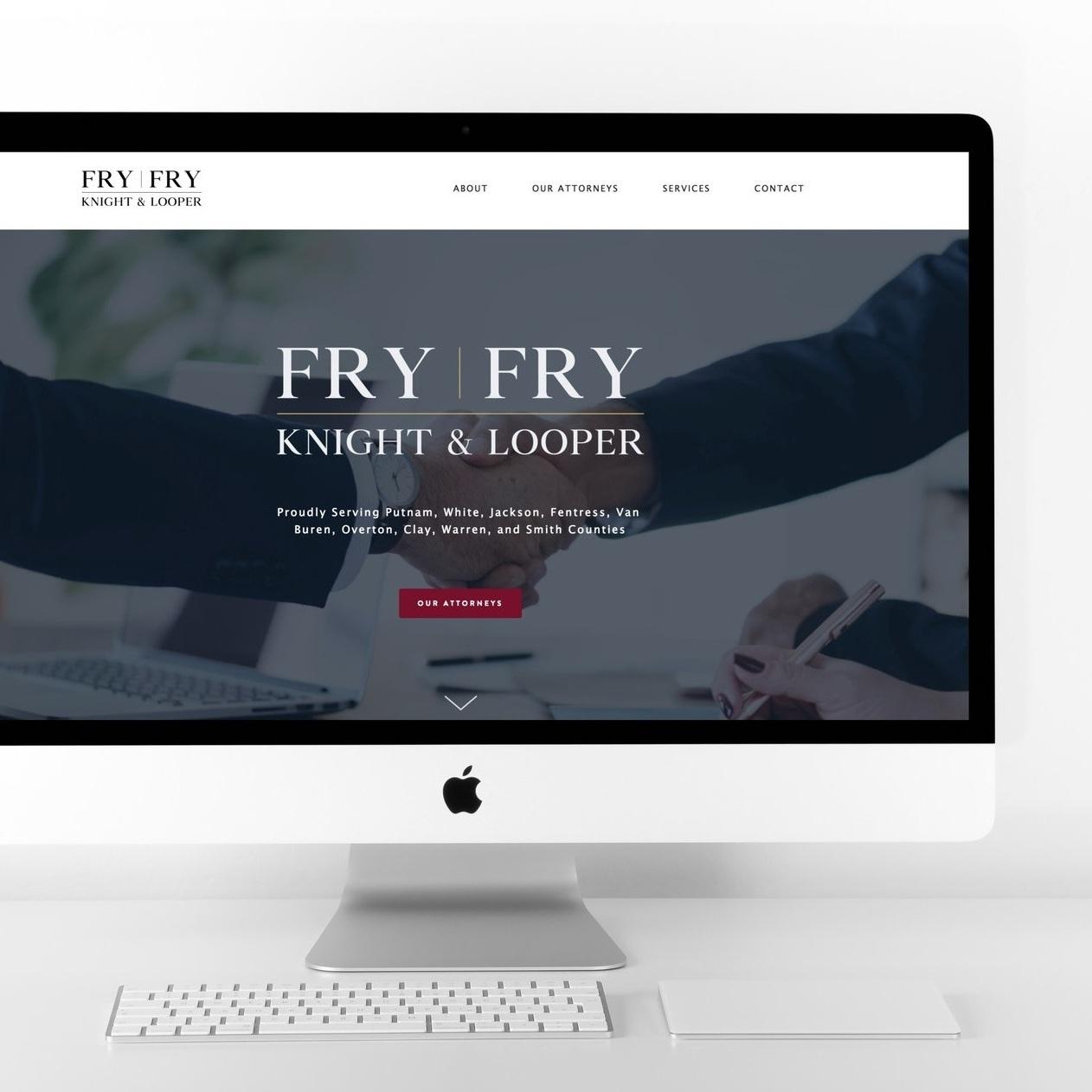 Fry & Fry    Logo Design, Website Design, Brand Photography & Headshots