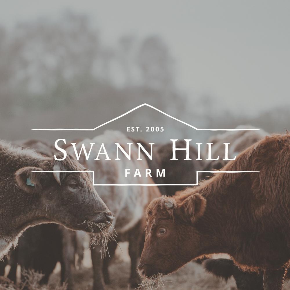 Swann Hill Farm   Brand Identity Design