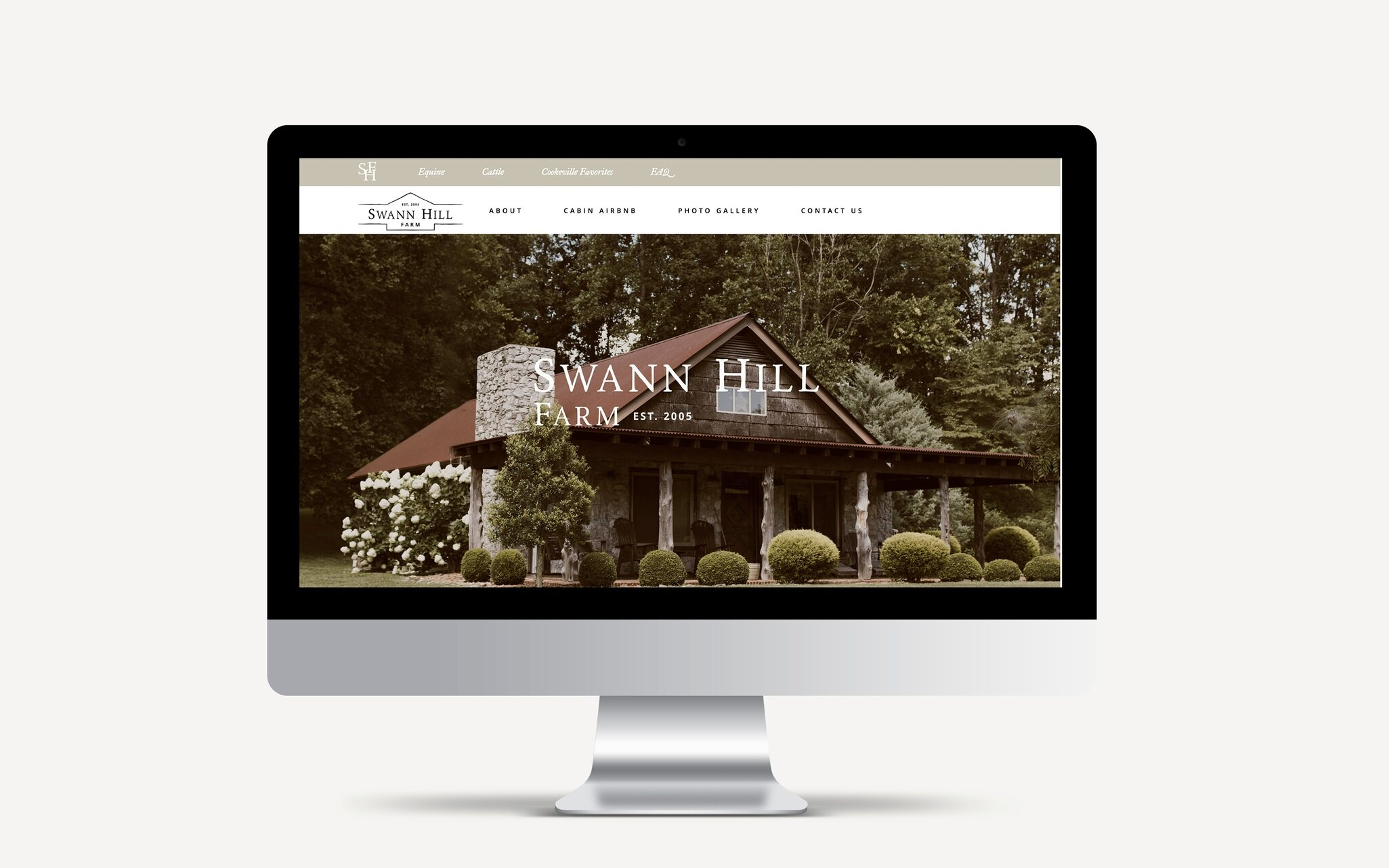 Swann Hill Farm Website