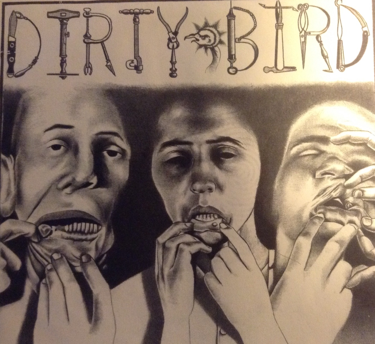 The Dirty Bird 45 - We recorded it in Seattle in less than one hour because, hey man, we were poor.