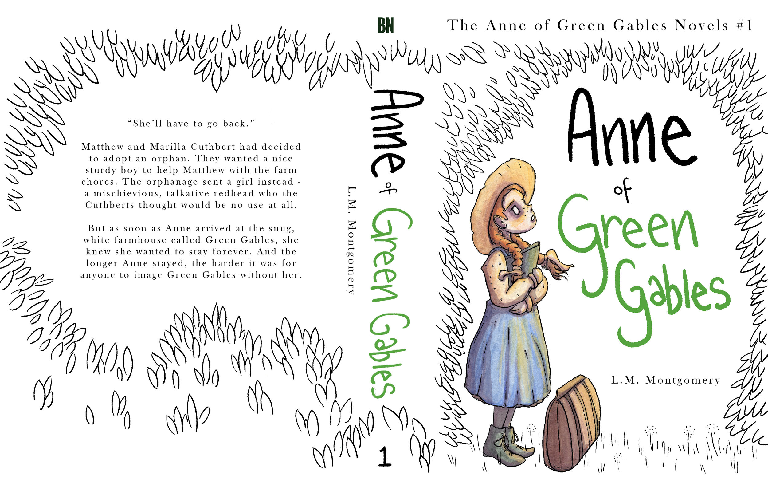 Anne of green gables (book cover)