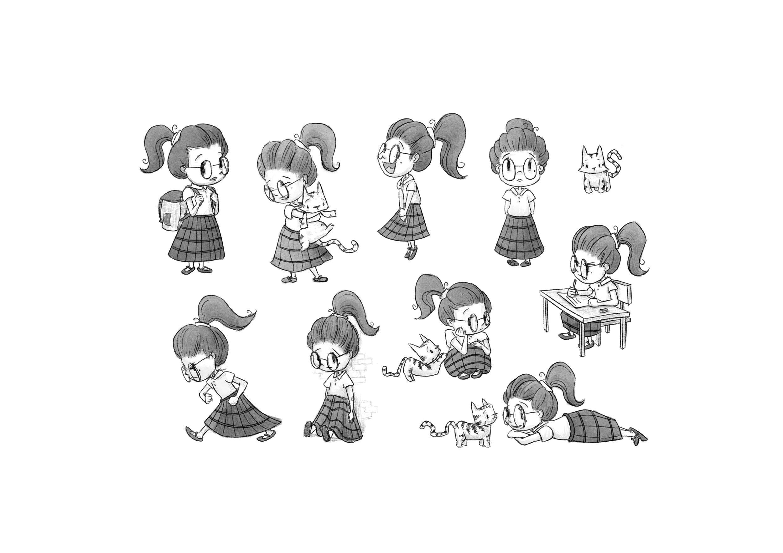 Gretta - Character Design