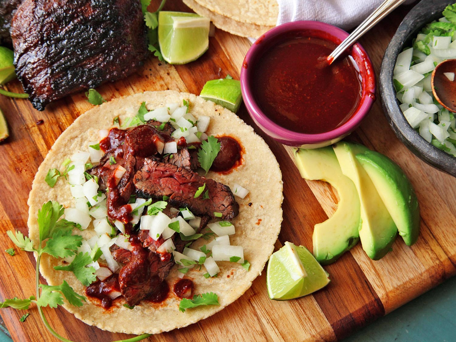 - simple carne asada tacosItems we carry for this dish: Seasoning, spices, marinades