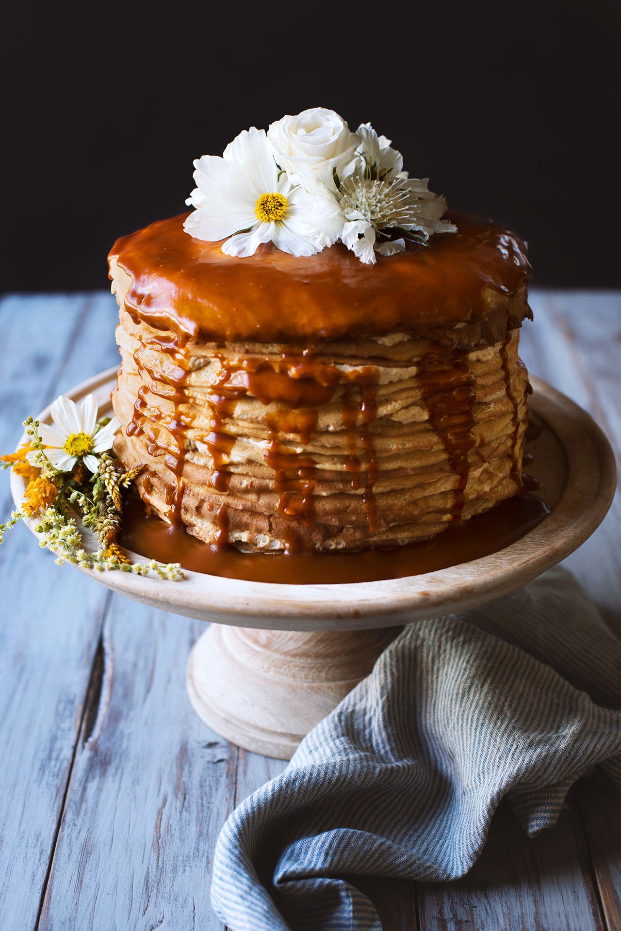 - Dulce de leche crepe cake - perfect for special occasionsitems we carry for this: dulce de leche, vanilla