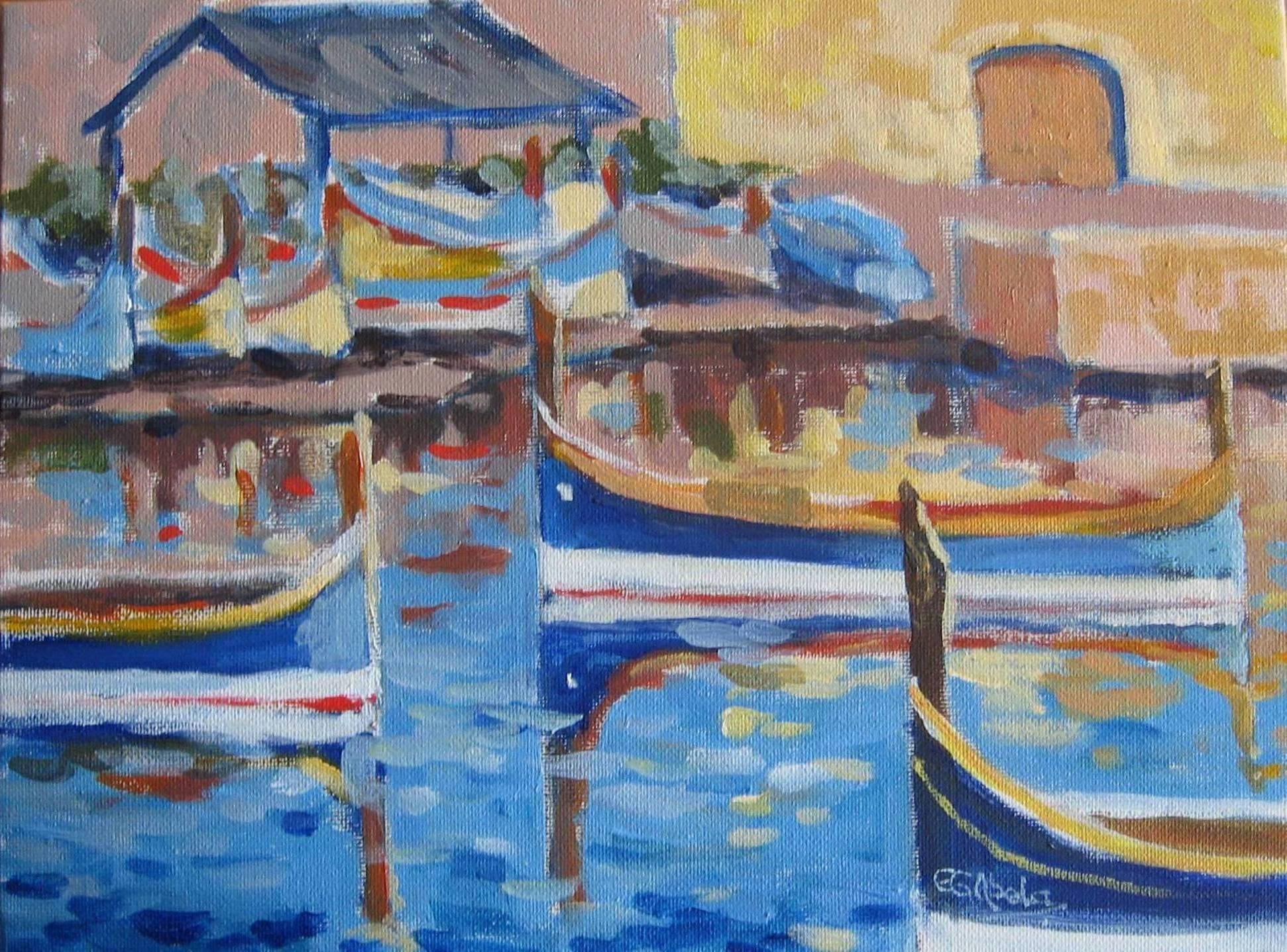 Maltese Boats.JPG