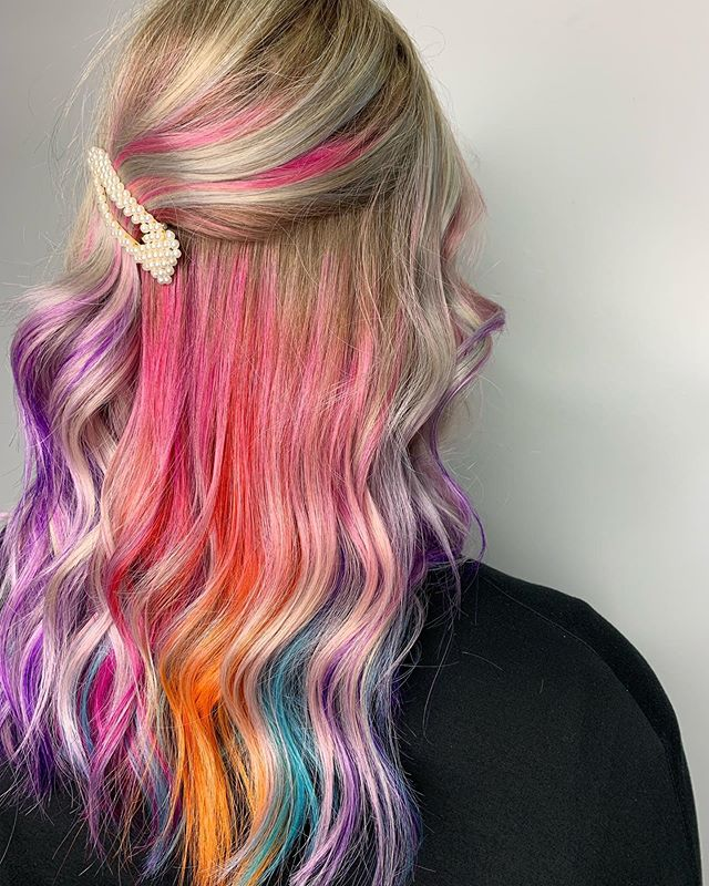 Hidden rainbow 🌈 done by Kathleen