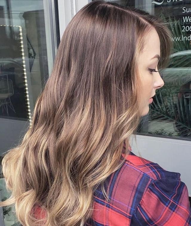 Subtle + Ombré = Sombre! ✨👏 Beautiful work by the amazingly talented senior stylist, Sarah! @mua_sarah⠀⠀⠀⠀⠀⠀⠀⠀⠀ .⠀⠀⠀⠀⠀⠀⠀⠀⠀ .⠀⠀⠀⠀⠀⠀⠀⠀⠀ .⠀⠀⠀⠀⠀⠀⠀⠀⠀ .⠀⠀⠀⠀⠀⠀⠀⠀⠀ .⠀⠀⠀⠀⠀⠀⠀⠀⠀ .⠀⠀⠀⠀⠀⠀⠀⠀⠀ .⠀⠀⠀⠀⠀⠀⠀⠀⠀ #industrysalonseattle #seattle #seattle_igers #seattlehair #seattlehairsalon #seattlebeauty #seattlecolorist #seattlehairstylist #capitolhillseattle #hair #hairporn #hairgoals #behindthechair #modernsalon #hotonbeauty #btcpics #americansalon