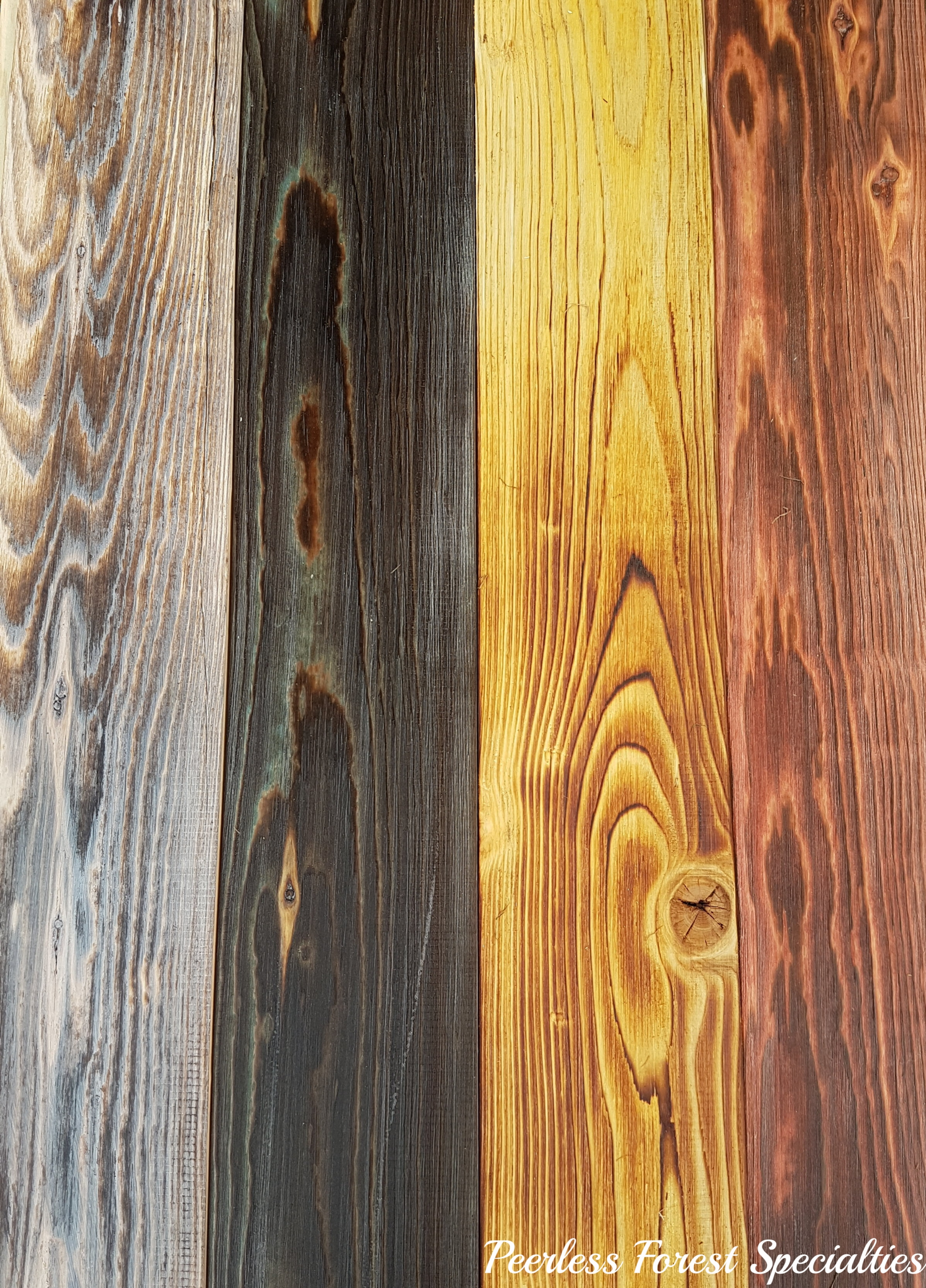 "1""x 6"" Pine. A few of our favorites. Wild White, Midnight Blue, Aged Yellow, Old Red Barn"