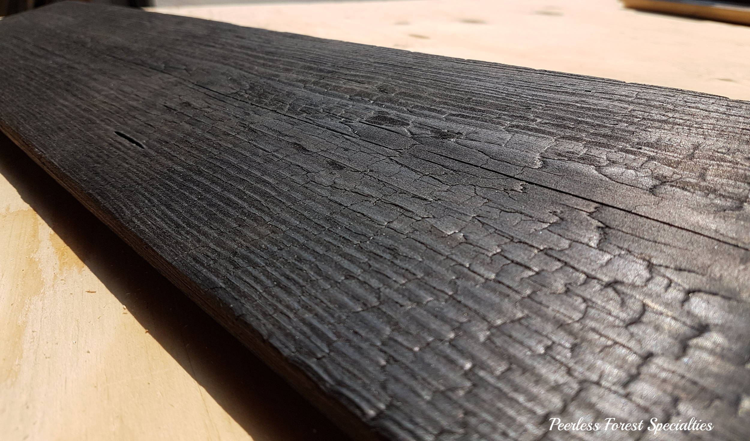 Canadian Shou Sugi Ban Dragon Wood.