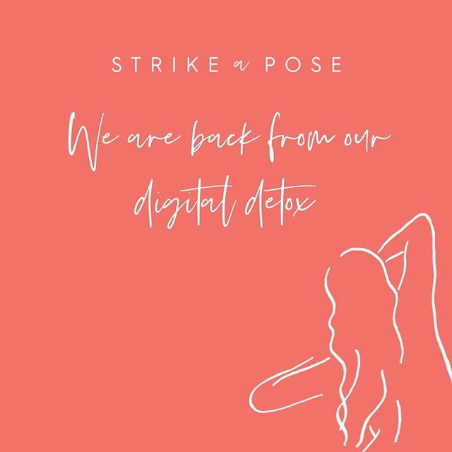 We can highly recommend taking a break from social media from time to time. We are back from our hiatus and feeling super rejuvenated and excited for the season ahead 🙌 🥳💛 #wakeuphappy #digitaldetox #strikeapose