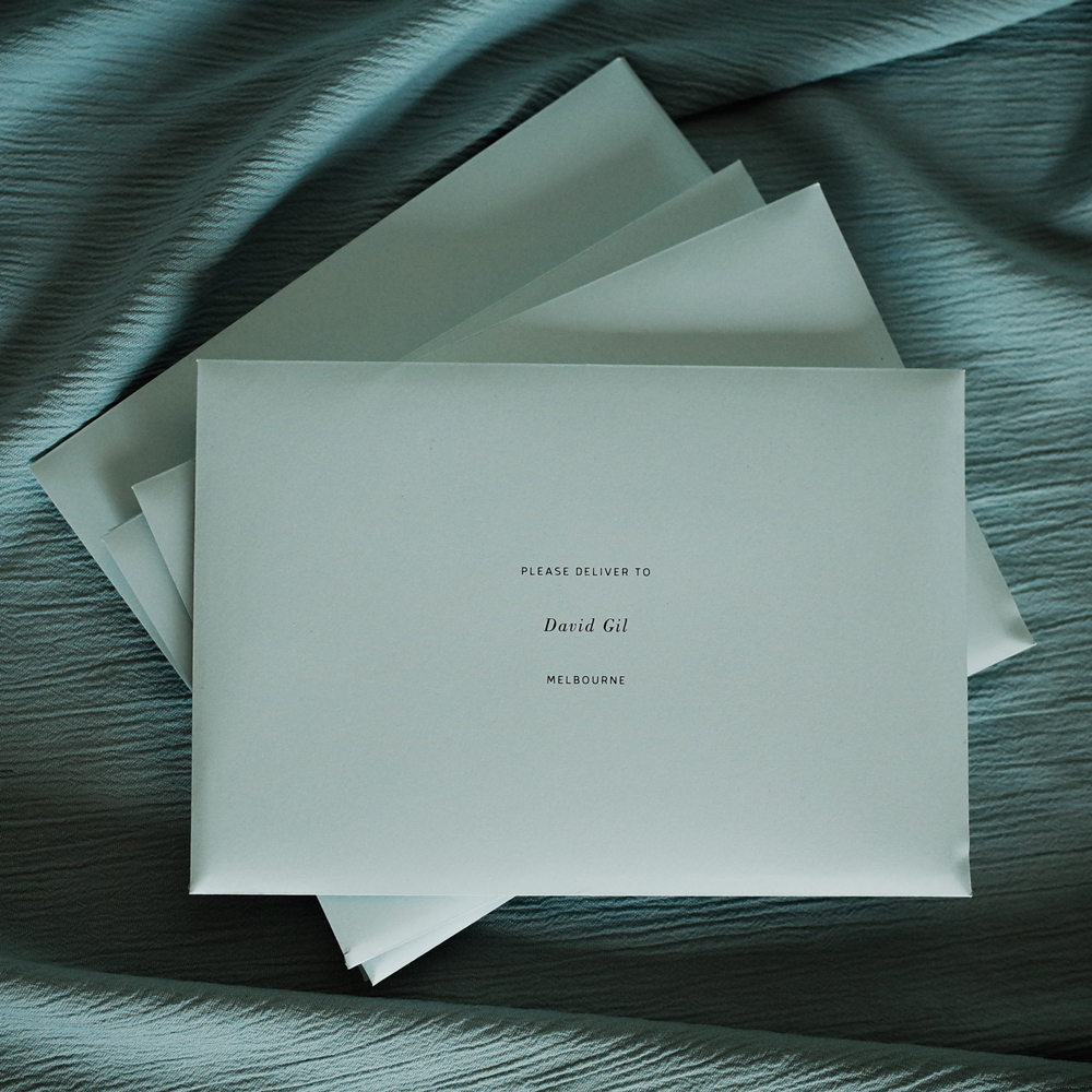 Tropica Weddings - Envelopes