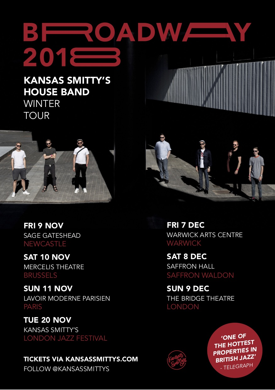Kansas Smitty's House Band Tour