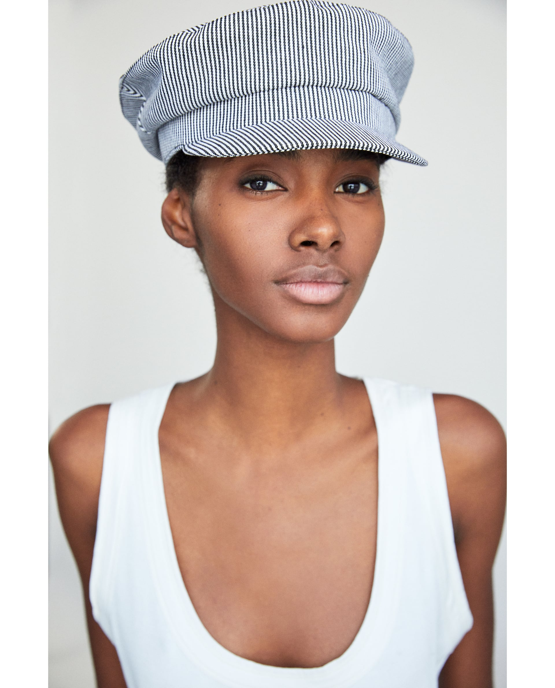 Forehead protection with a peak fronted cap. - Zara, £15.99