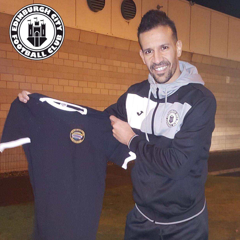 Farid El-Alagui (FRA, Edinburgh City FC)
