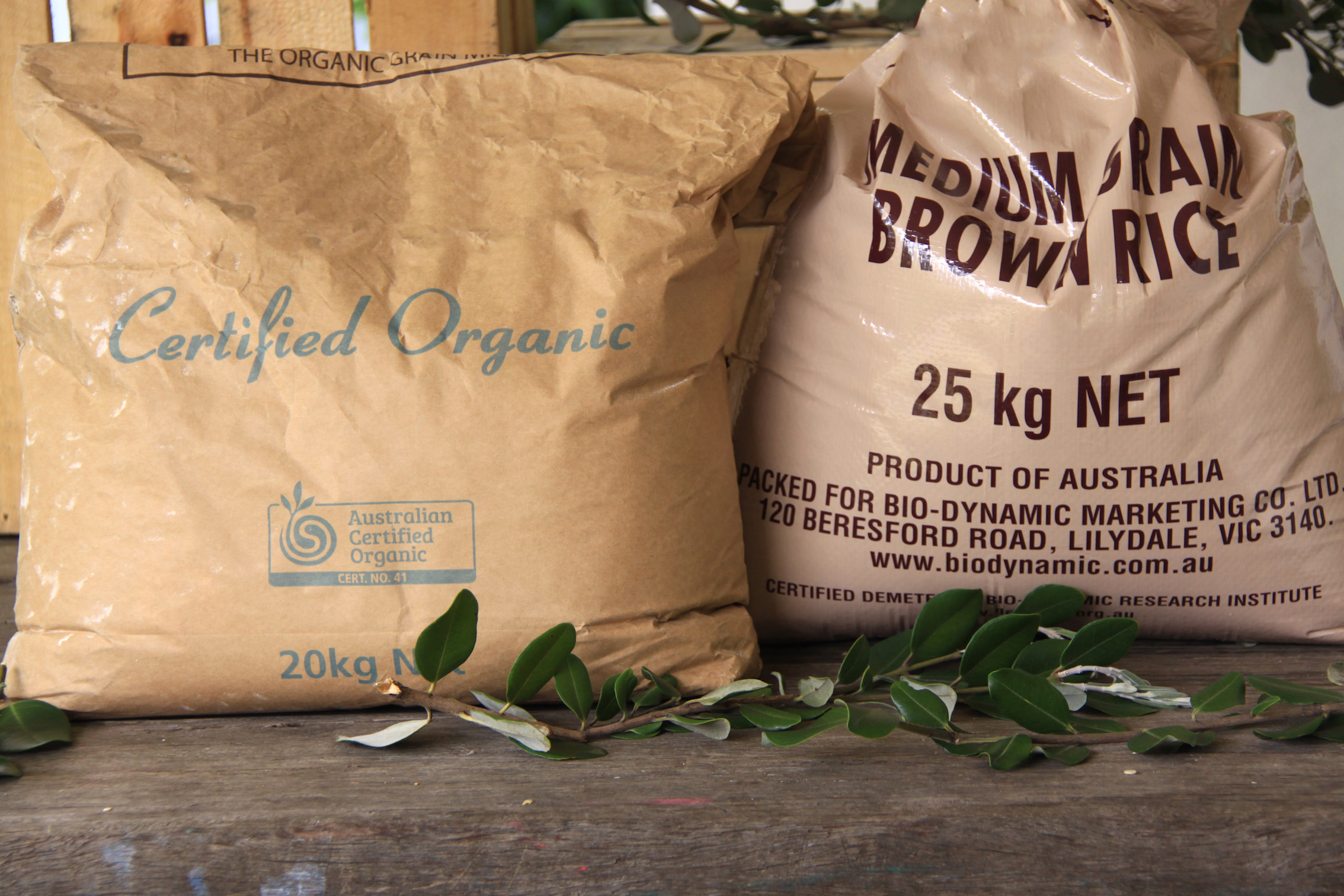 Quality Bulk Wholefoods - We have sourced a select bunch of staple quality bulk wholefoods that meet our sustainability criteria - the rrrrrr's. We prefer organic and therefore chemical free!
