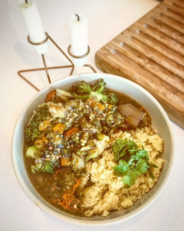 Vegan meal of the day: vegetable couscous! 🤤🤤❤️🌾🍃 . . . . #veganfood #vegan #veganideas #youjusthavetodoit #noplanetb #foodporn #foodgasm #homemadewithlove #plantbaseddiet #vegetables