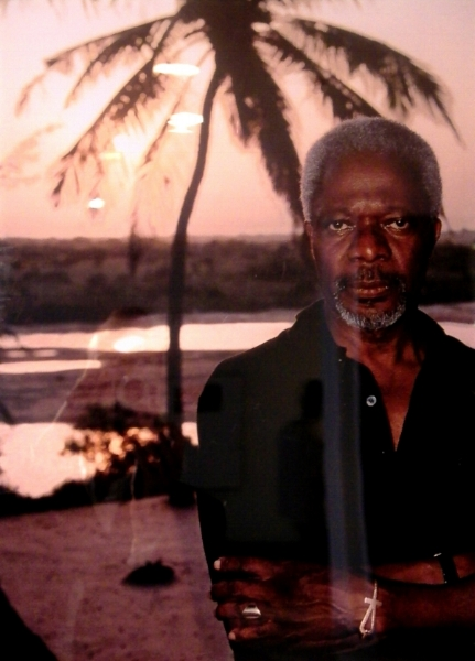 Kofi Annan. Not Morgan Freeman.