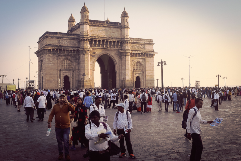 Gateway to India: The last British troops left through this gate in 1947.