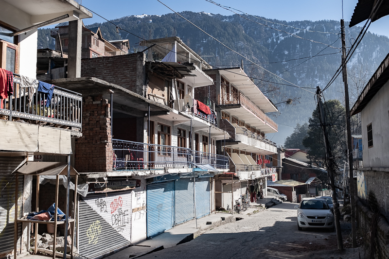A charming mountain town, Indian style.