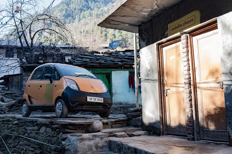 The Tata Nano is less ubiquitous in India than I had expected.