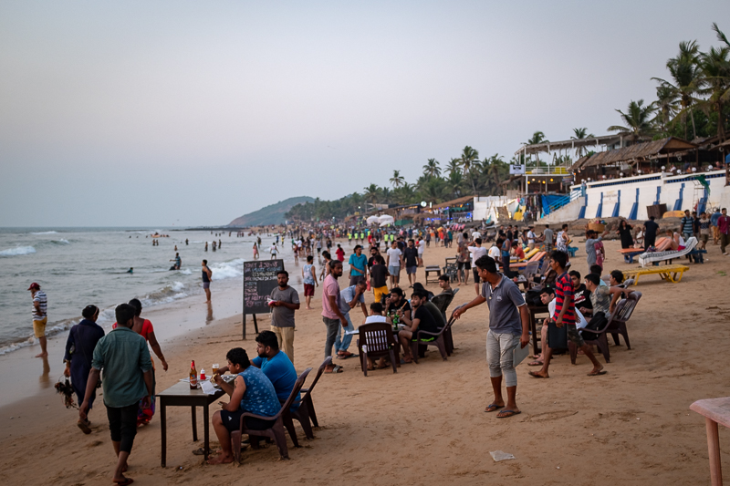 Nowadays the beach is firmly in the hand of domestic tourists …