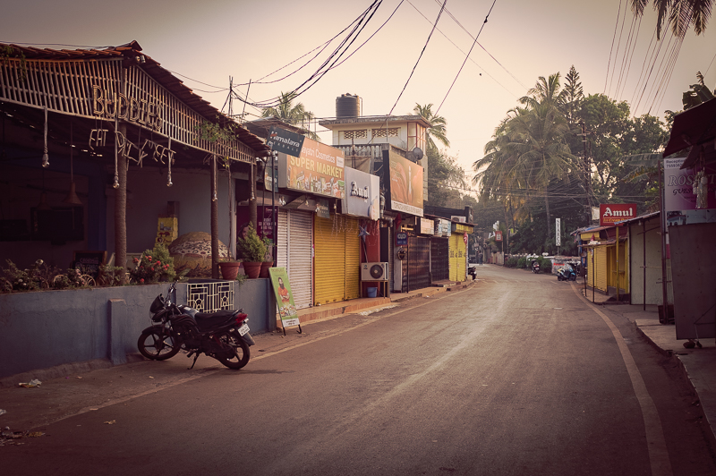 The best thing about Anjuna is not the beach, but rather exploring the villages in its hinterland with a scooter.