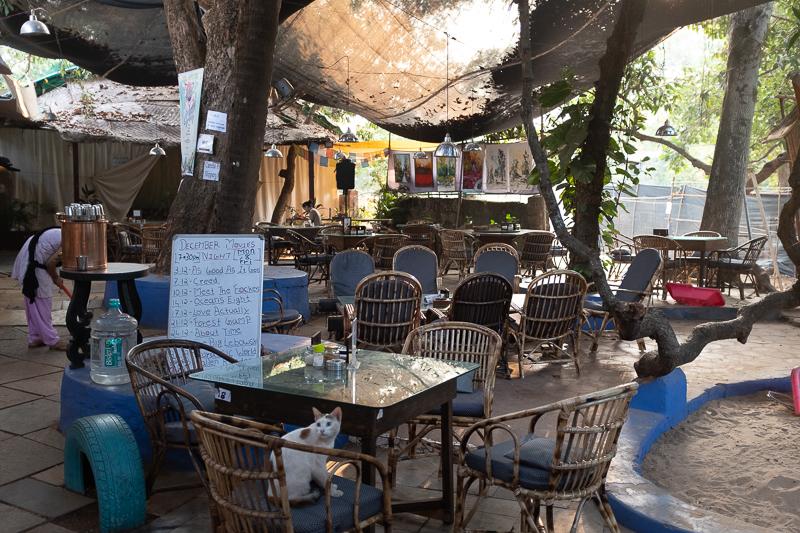 Such as the beautiful Artjuna Café.