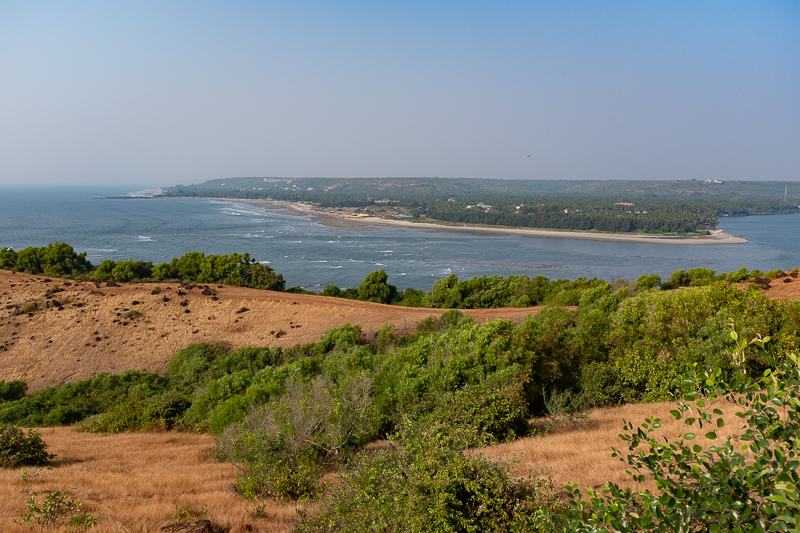 In the distance, there is Arambol. The Russians are there.