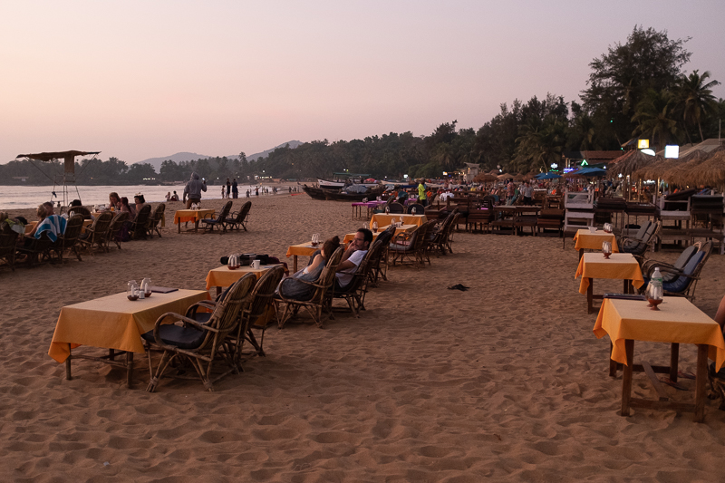 Patnem Beach: Cosy and touristy.