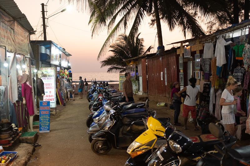 Gateway to the beach.