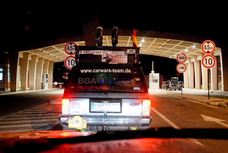 Abends dann der Grenzübergang nach Albanien