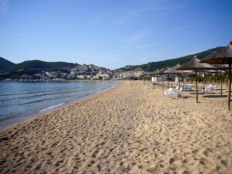Ein Campingplatz am Meer. Herrlich. Zum Schwimmen war es im Mai allerdings noch zu kühl.