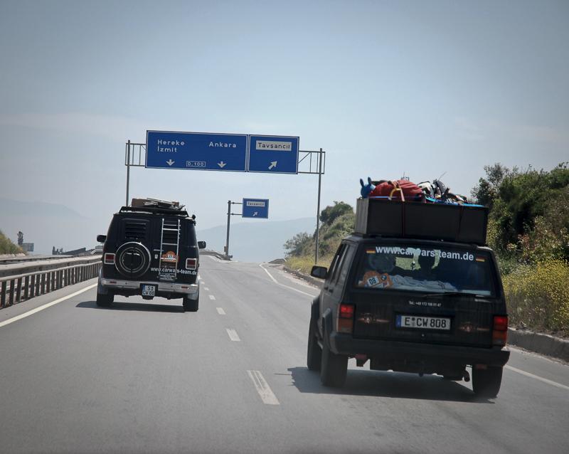 Nächstes Ziel: Ankara.