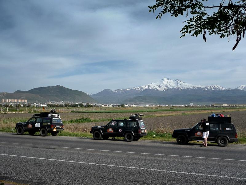 Und weiter gings, durch Kayseri, in Richtung syrische Grenze …