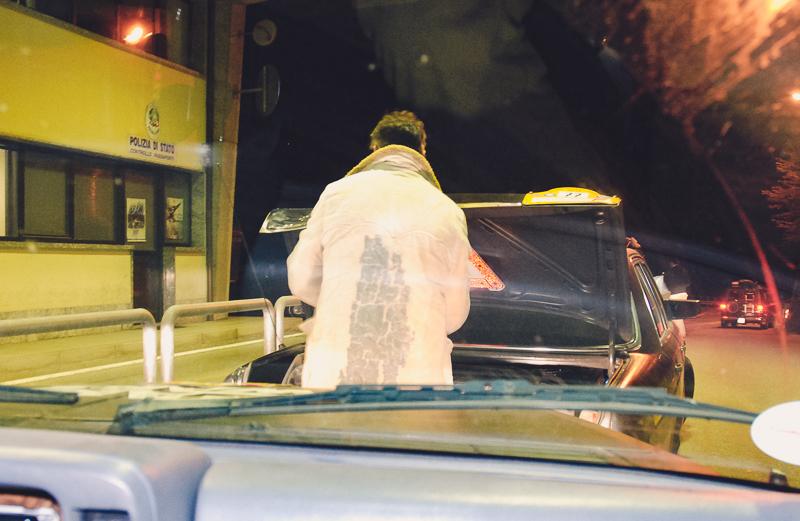 Ankunft in Italien. Das war meine erste von drei gefahrenen Nachtschichten - mein Co-Fahrer war nämlich nachtblind.