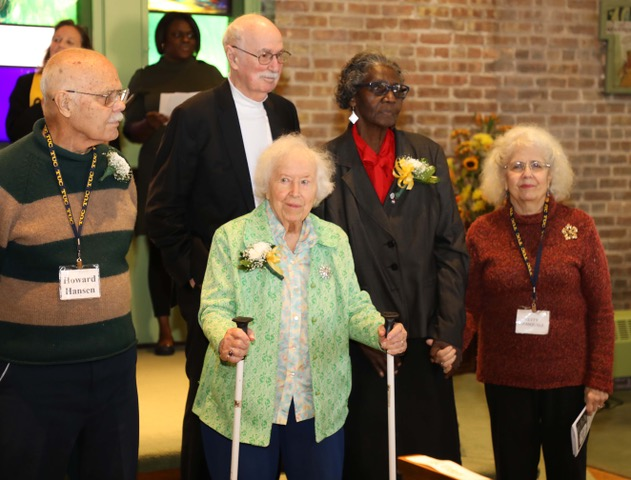 Long term members recognized at Anniversary Celebration