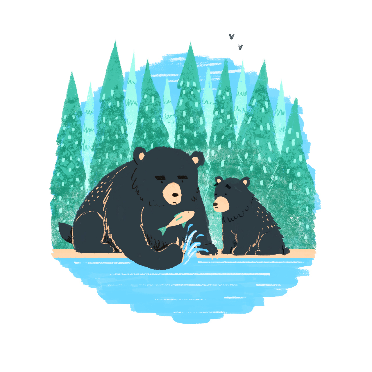 'Bears' © Jonty Howley Illustration