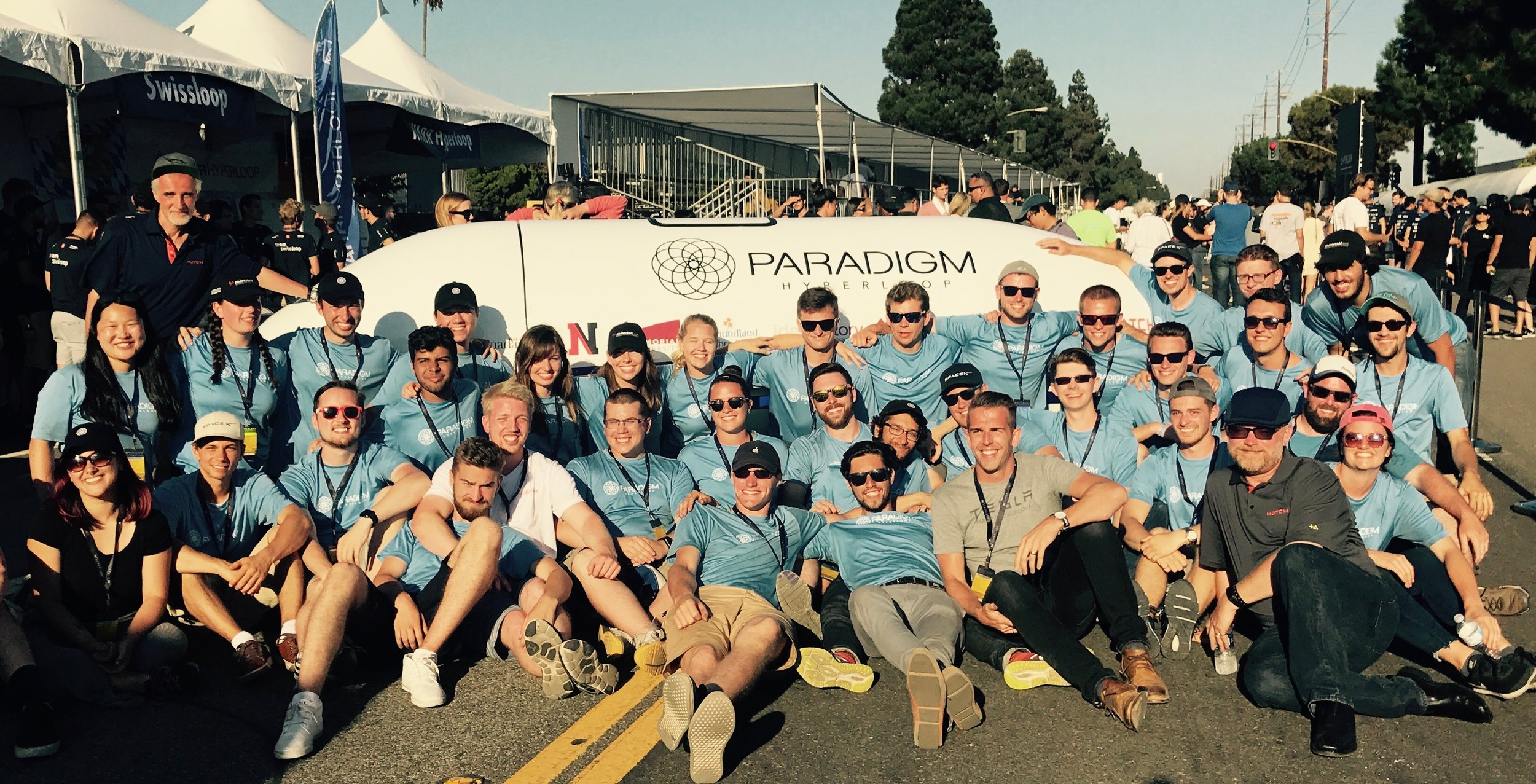 Team Paradigm at the 2017 SpaceX Hyperloop Competition