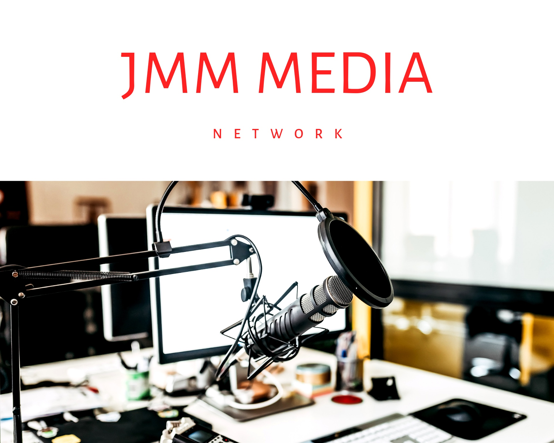 JMM MEDIA Productions: Podcasts/Vlogs/Audio&Visual   Our studio & production Team can provide all the support to produce or assist with all elements from audio & visual for video or podcast. Included elements: writing, editing, directing, and design.
