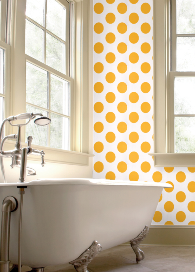 Dots Yellow Room Seven by Paper Moon