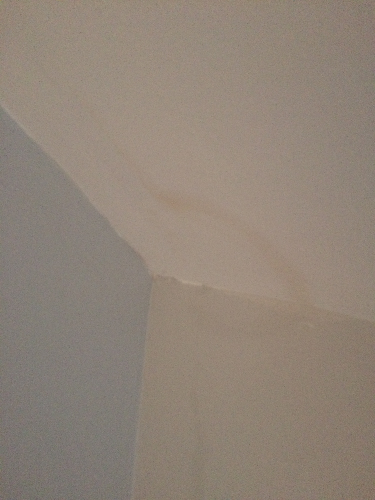 Terrible cutting-in and no stain-blocker on ceiling