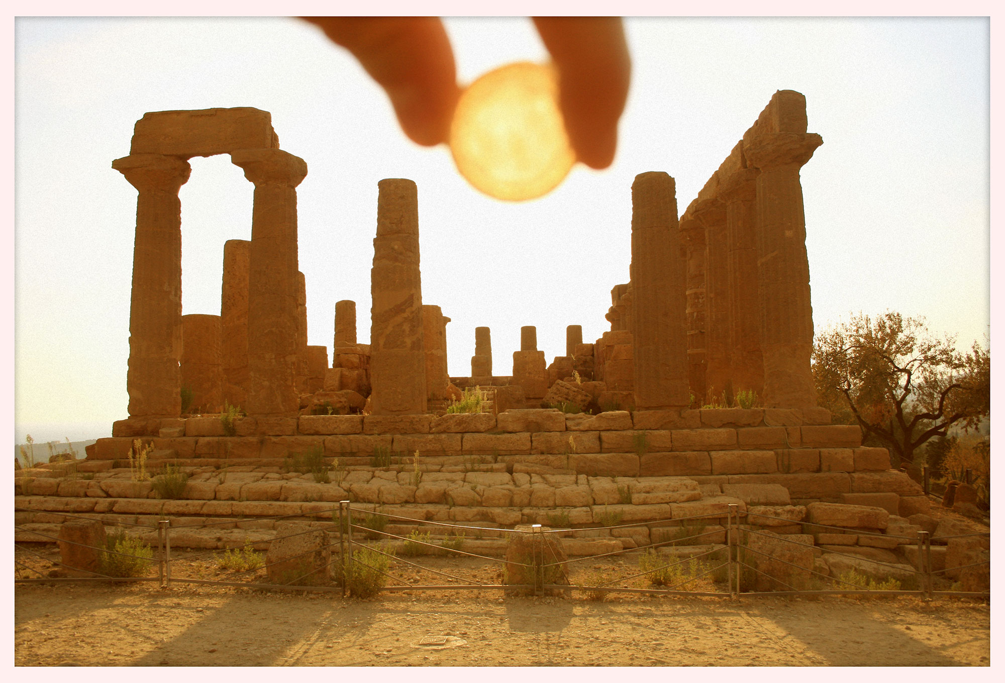 Catching a little sun in Agrigento, Sicily. © 2009.