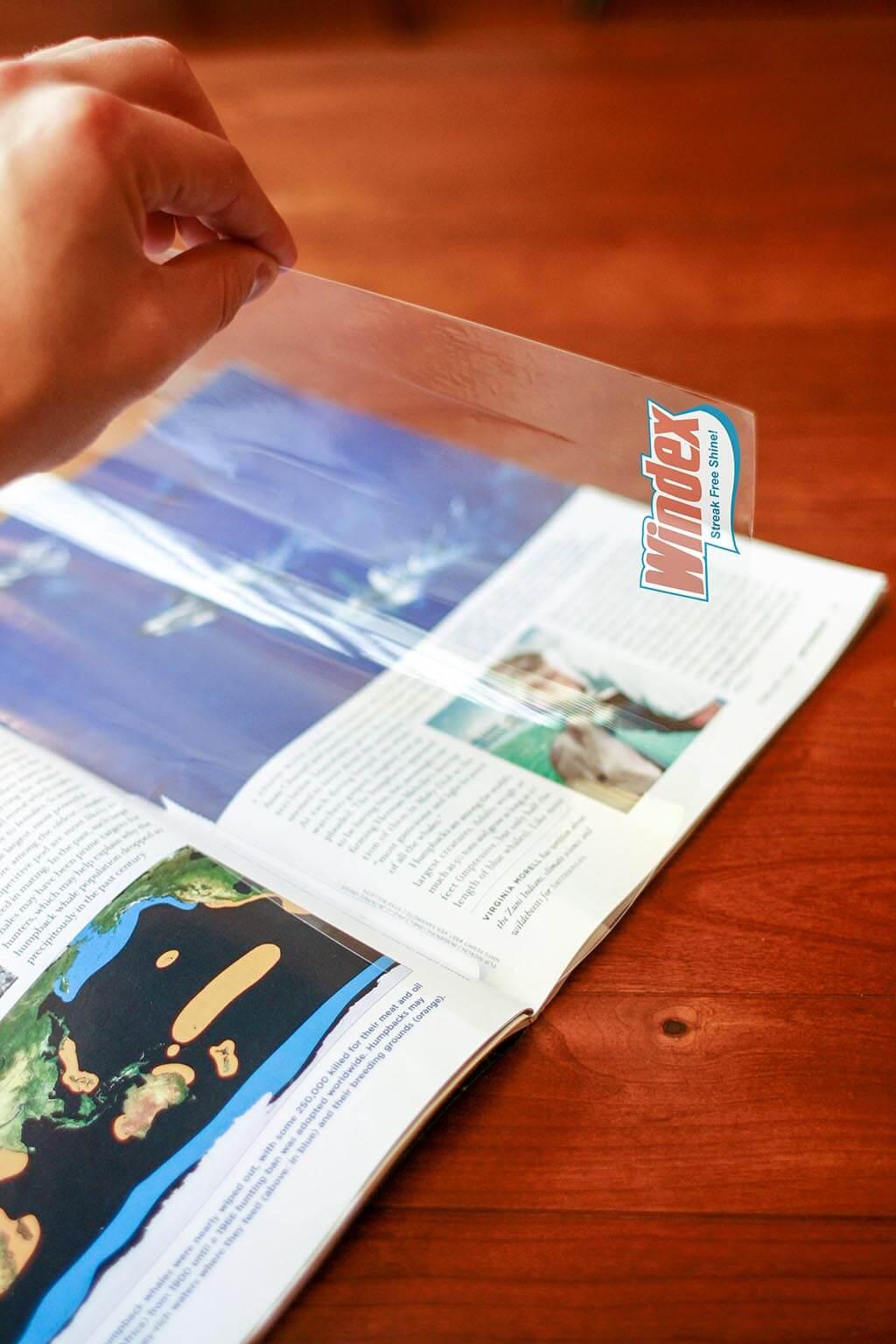 Windex Transparent Spec Ad
