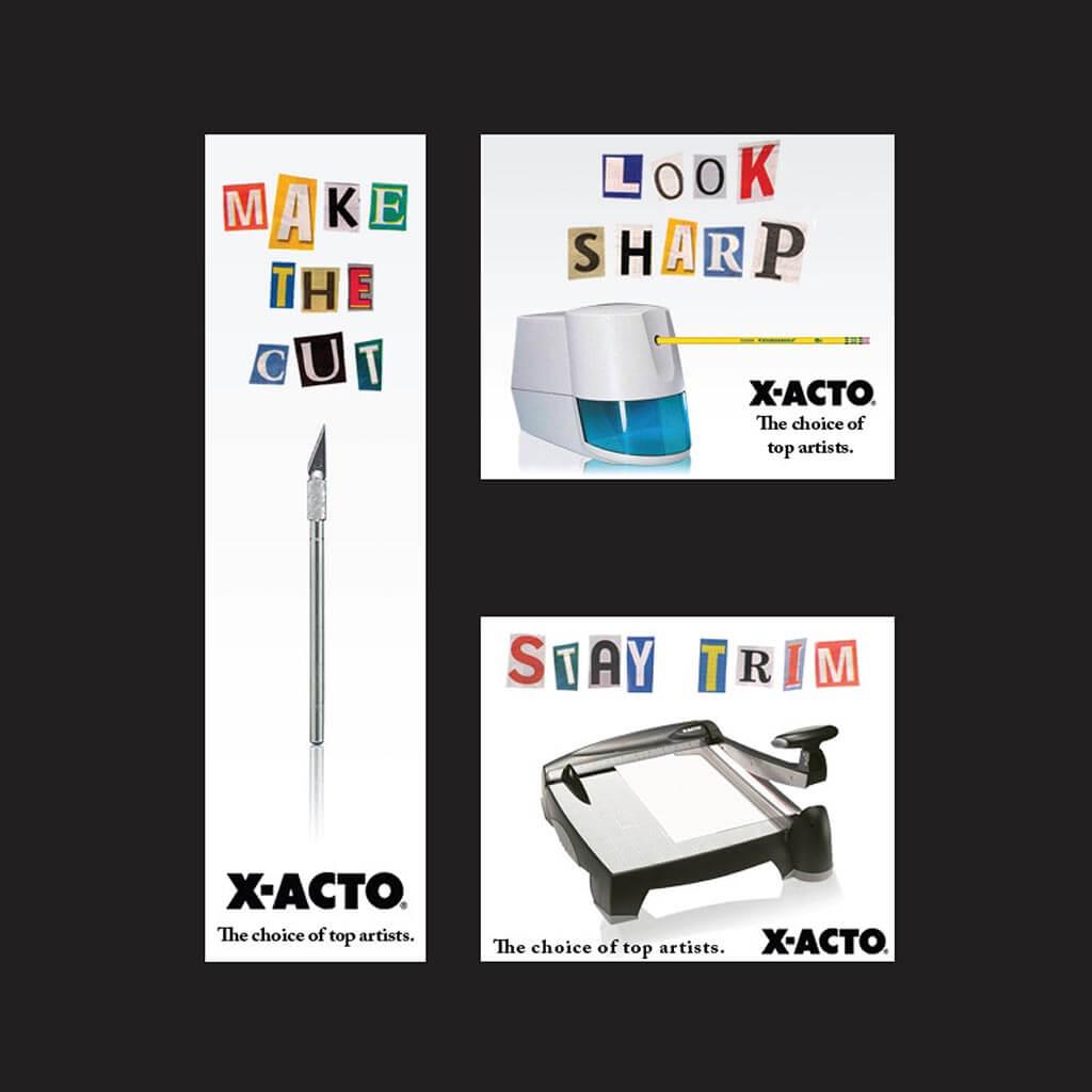 X-Acto Spec Ads