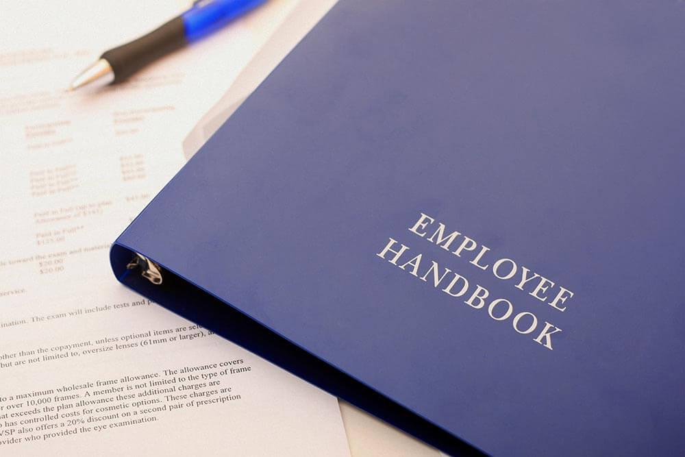 Employee Handbook Stock Photo by John W. DeFeo